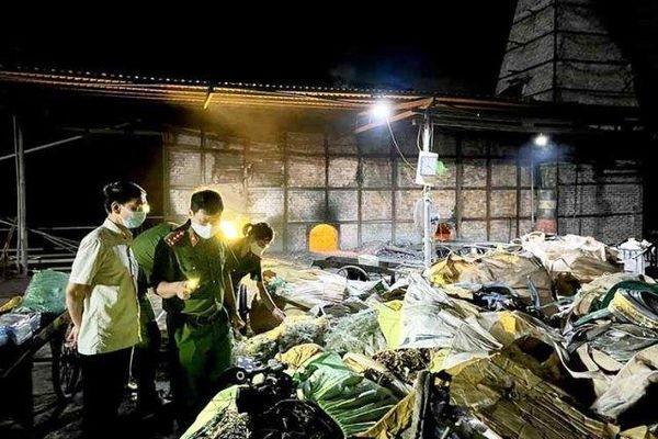 Thanh Hóa: Khẩn trương làm rõ vụ xây dựng lò đốt chất thải công nghiệp trái phép