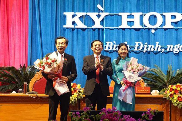 Ông Hồ Quốc Dũng tái đắc cử Chủ tịch Hội đồng nhân dân tỉnh Bình Định