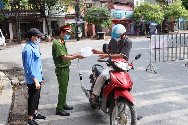 Bắc Ninh nới lỏng giãn cách xã hội tại một số địa bàn