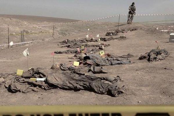 Iraq khai quật hơn 100 thi thể tại các ngôi mộ tập thể