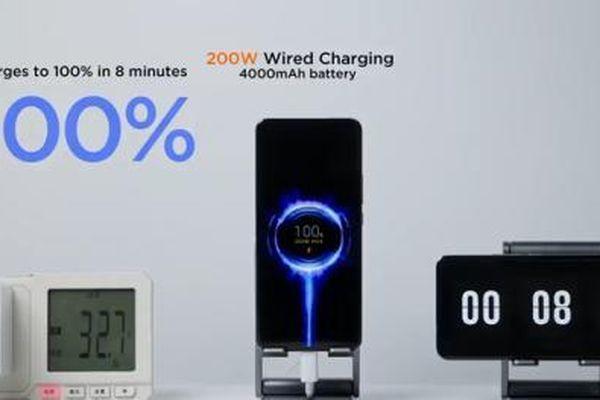 Xiaomi phá vỡ kỷ lục thế giới về tốc độ sạc pin trên smartphone