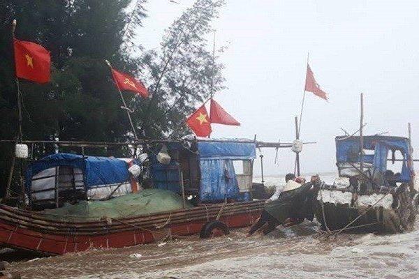 Thanh Hóa: Đã tìm thấy ngư dân thứ 2 mất tích trong bão