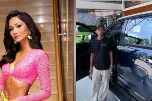 Vừa xây nhà tiền tỷ, H'Hen Niê tiếp tục mua xế hộp tặng bố mẹ