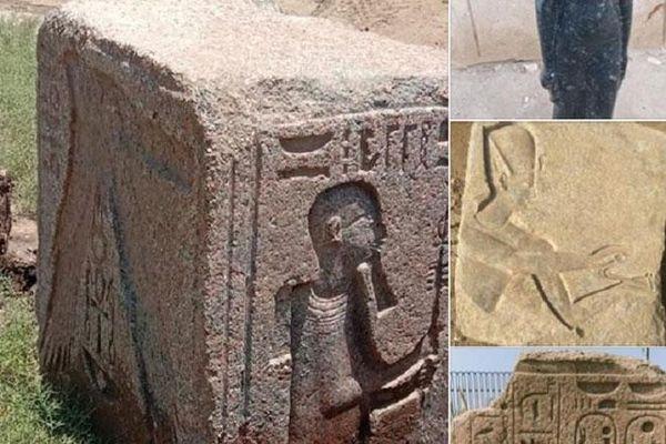 Phát hiện loạt tượng nữ thần Ai Cập cổ đại và Pharaoh Ramses II