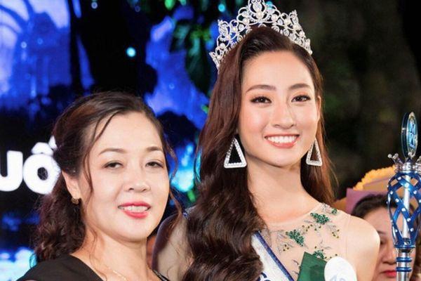 Là hoa hậu nhưng Lương Thùy Linh vẫn bị mẹ nhắc nhở nghiêm khắc việc học tập