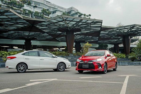 Toyota Vios lần đầu vượt qua Hyundai Accent ở phân khúc sedan hạng B