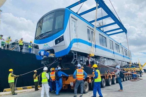 4 ngày nữa 2 đoàn tàu metro tiếp theo sẽ về tới TP.HCM