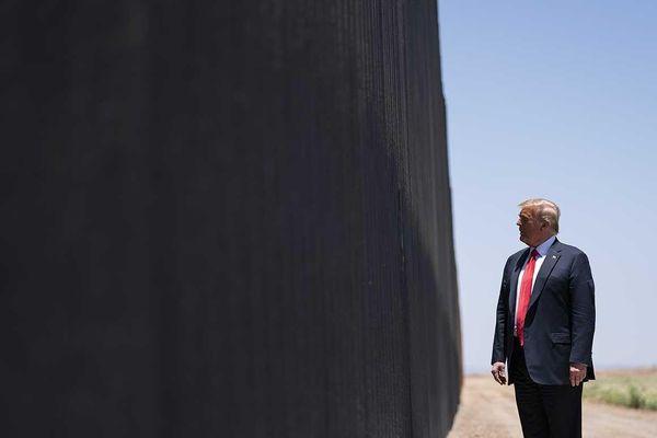 Ông Trump sẽ đến biên giới Mexico