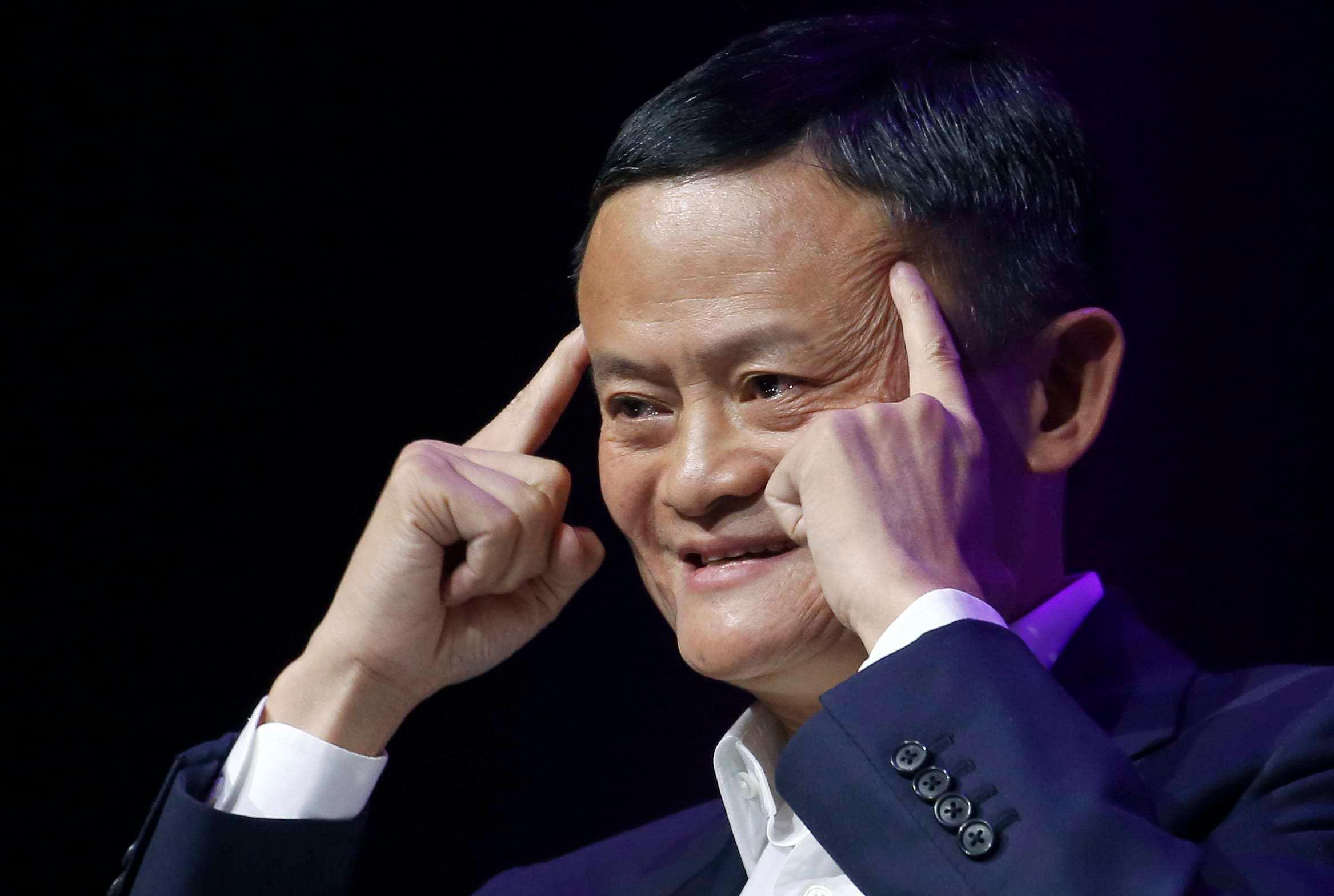 Jack Ma đang sống ẩn dật