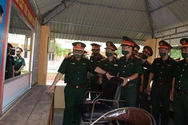 Lữ đoàn 414 chú trọng công tác quản lý, củng cố, sửa chữa doanh trại