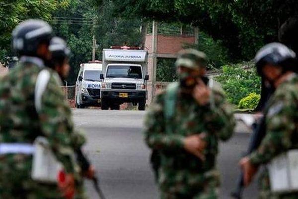 Nổ bom xe tại căn cứ quân sự ở Colombia, 36 người bị thương