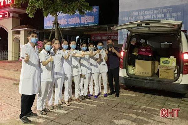 Chuyện những y, bác sỹ tình nguyện chi viện chống dịch ở Hà Tĩnh
