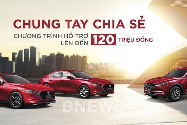 Bảng giá xe ô tô Mazda tháng 6/2021, ưu đãi đến 120 triệu đồng