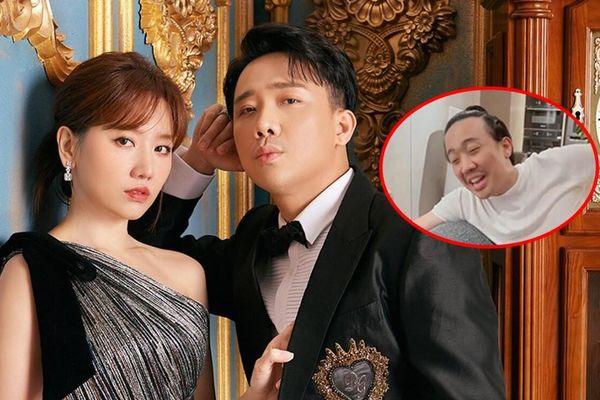 Không còn dìm hàng, Hari Won bỗng có phản ứng 'lạ' khi ông xã Trấn Thành cover hit của Amee