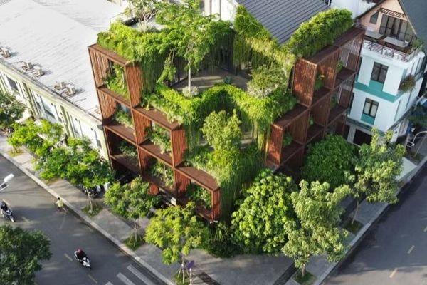 'Khối xanh khuyết' giữa lòng đô thị Sài Gòn