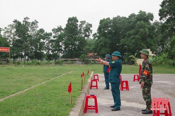 Ban CHQS huyện Thiệu Hóa thực hiện tốt nhiệm vụ quân sự - quốc phòng địa phương