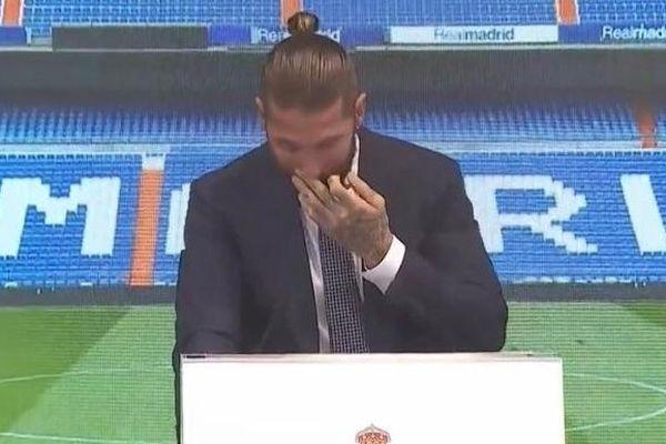 Ramos bật khóc nói lời chia tay Real