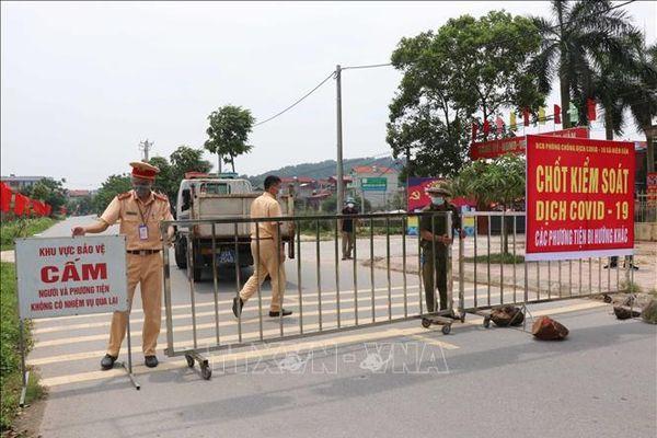 Các huyện ở Bắc Ninh giảm dần số lượng chốt kiểm soát dịch COVID-19