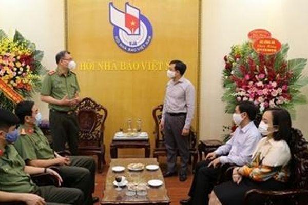 Bộ Công an chúc mừng các cơ quan thông tấn, báo chí nhân Ngày Báo chí Cách mạng Việt Nam