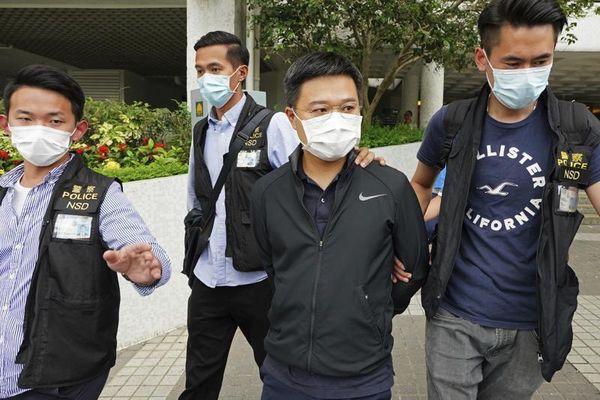 Tổng biên tập Apple Daily bị buộc tội thông đồng với nước ngoài