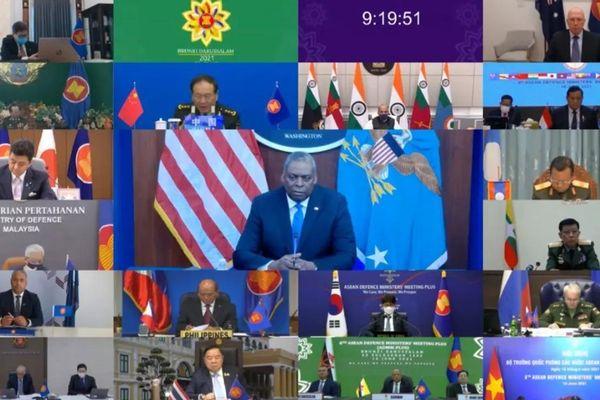 Truyền thông quốc tế: Mỹ, Nhật chỉ trích kịch liệt Trung Quốc tại Hội nghị Quốc phòng ASEAN mở rộng