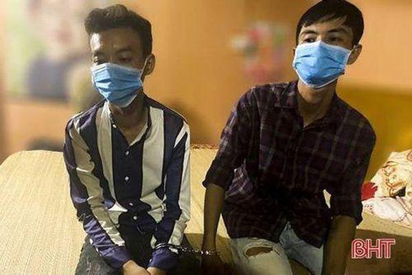 Hà Tĩnh: Bắt giam 2 đối tượng tàng trữ ma túy tại Đức Thọ