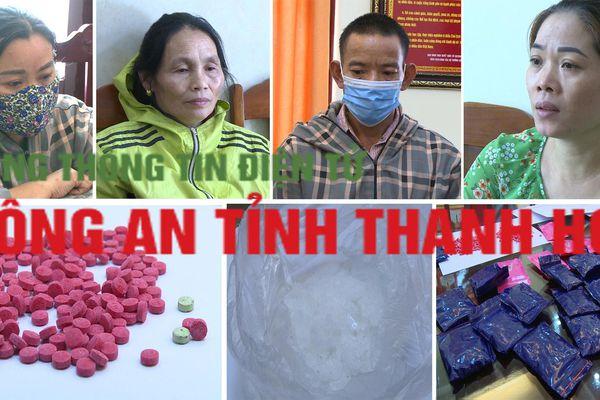 Triệt xóa đường dây ma túy 'khủng' từ Lào vào Thanh Hóa, bắt 4 đối tượng