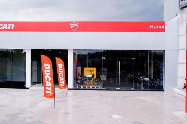 Ducati Việt Nam khai trương showroom mới tại Hà Nội