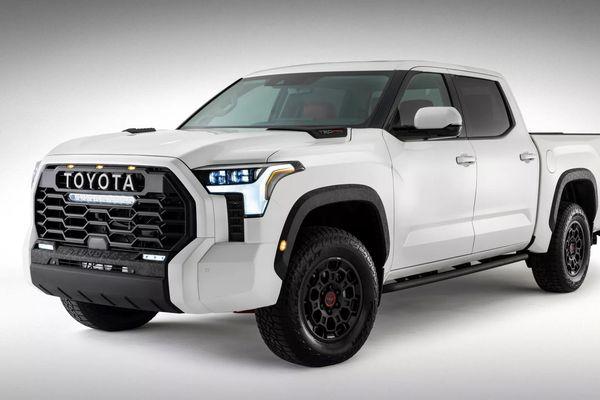Toyota bất ngờ công bố hình ảnh của Tundra 2022