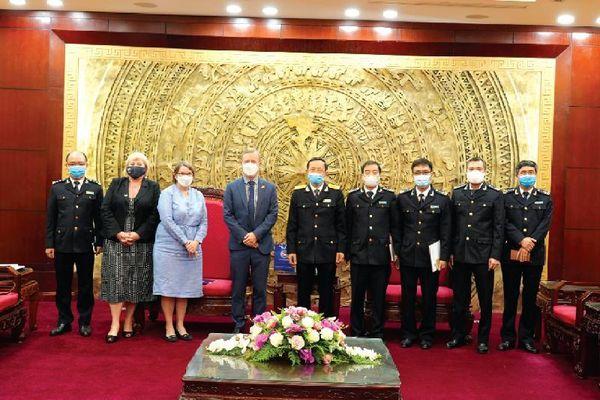 Chủ động hội nhập, tăng cường hợp tác và hỗ trợ lẫn nhau trong lĩnh vực hải quan với các nước
