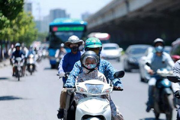 Nắng nóng gay gắt tại Hà Nội có khả năng kết thúc vào ngày 23/6