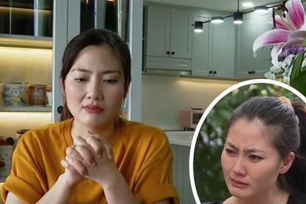 Ngọc Lan lên tiếng khi bị nhận xét 'khóc lố' trên sóng truyền hình