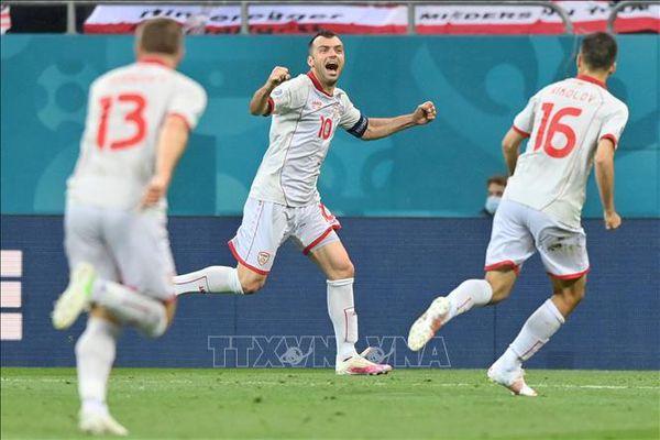 EURO 2020: Rắc rối chuyện áo đấu của đội tuyển Bắc Macedonia
