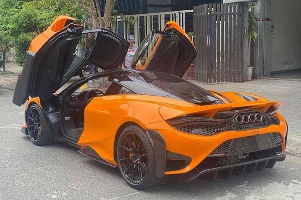 Ngắm siêu xe McLaren 765LT thứ 4 tại Việt Nam