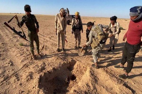 Cận cảnh loạt hang ổ của khủng bố IS vừa bị phát hiện