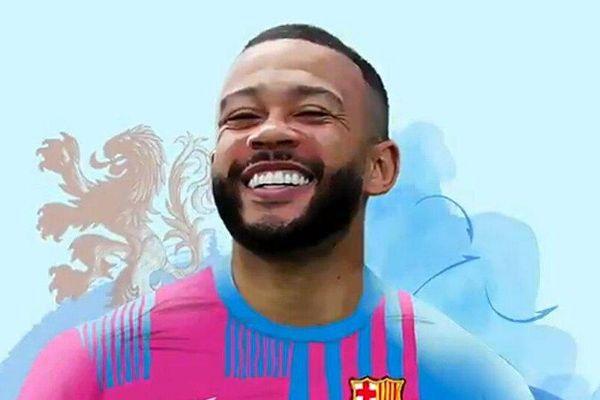 Memphis Depay kỳ hợp đồng với Barcelona