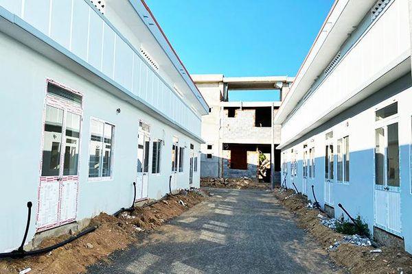 Dự án Nhà ở xã hội Cam Ranh chuẩn bị bàn giao khối nhà liền kề