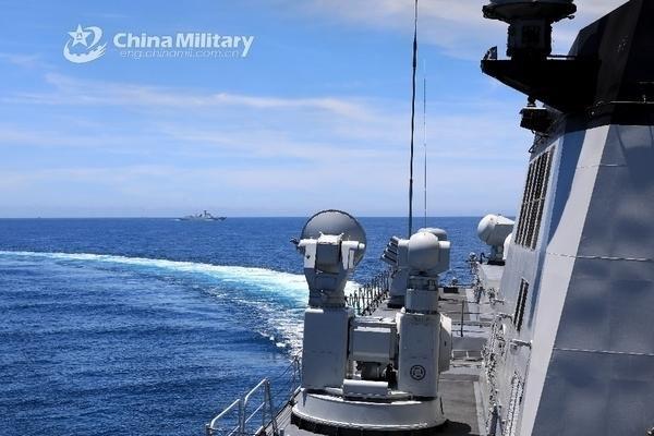 Trung Quốc thông báo tập trận cả tuần ở Biển Đông