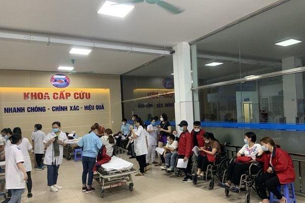 Công nhân khu công nghiệp ở Hải Phòng nhập viện sau bữa ăn ca
