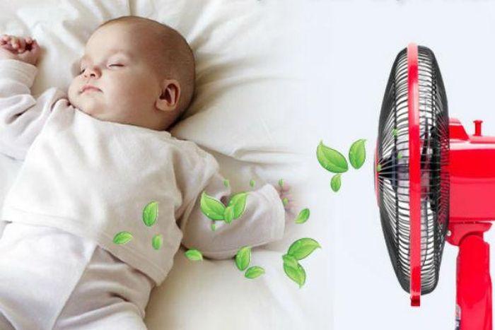 Hướng dẫn cách sử dụng quạt điện an toàn cho trẻ sơ sinh - Báo Chất Lượng  Việt Nam