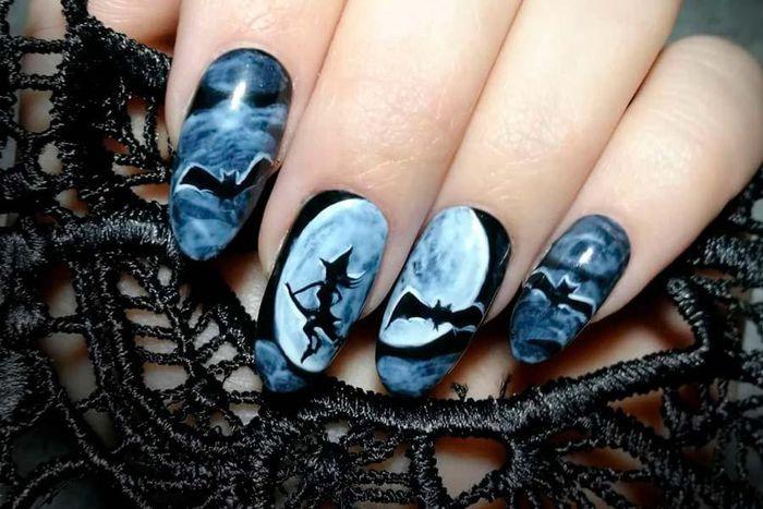 Những mẫu nail đầy 'ma mị' cho các bạn gái đi chơi ngày Halloween - Báo Tri Thức & Cuộc Sống