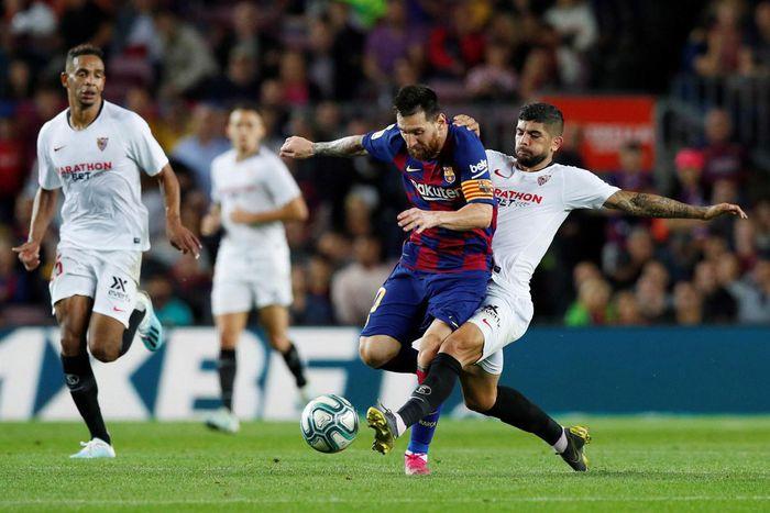Lịch thi đấu vòng 25 La Liga: Barca gặp khó, thành Madrid cũng không dễ