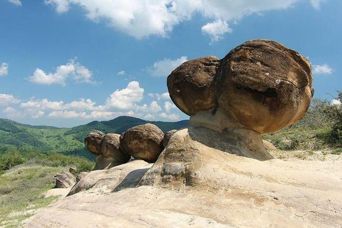 Ly kỳ loài đá độc nhất vô nhị có thể mọc như nấm ở của Romania - ảnh 2.