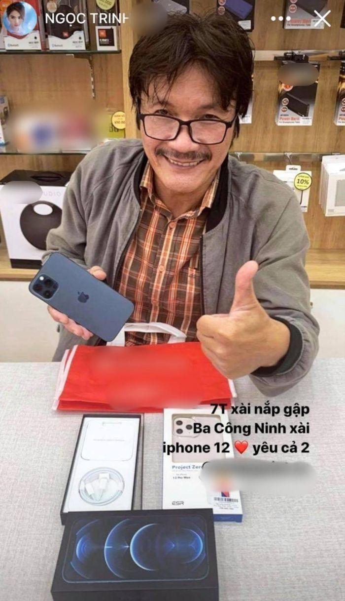 Ngọc Trinh 'mạnh tay' mua tặng Iphone 12 Pro cho người đóng phim cùng