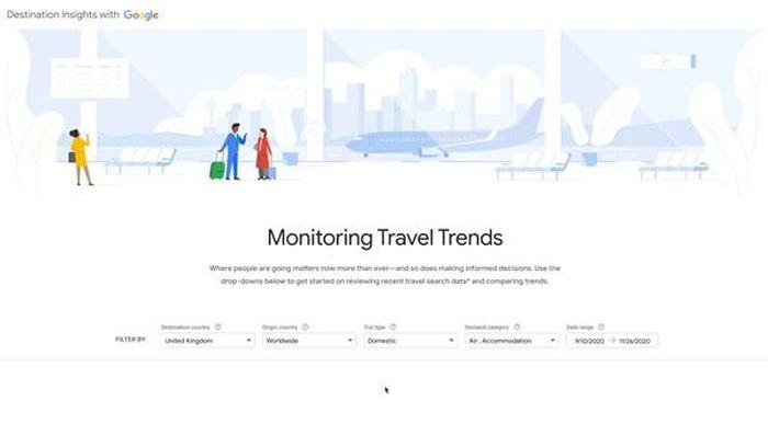 Google ra mắt công cụ hỗ trợ phục hồi du lịch hậu COVID-19