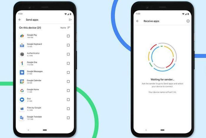 Google sớm cho phép người dùng gửi và nhận ứng dụng qua tính năng Nearby Share