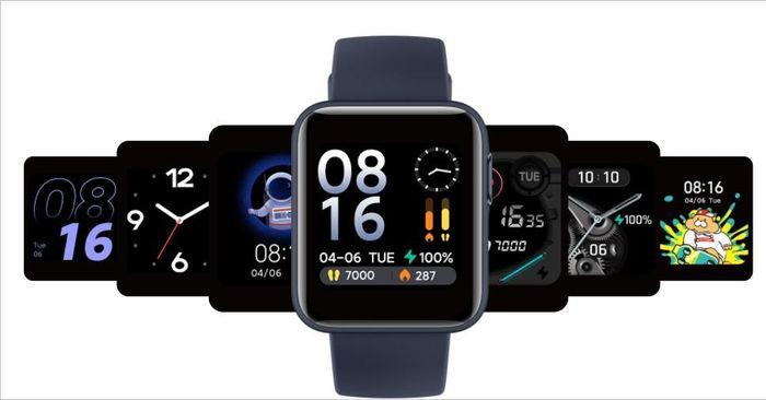Xiaomi Mi Watch Lite ra mắt: Pin 9 ngày, thiết kế đẹp, chống nước sâu 50m