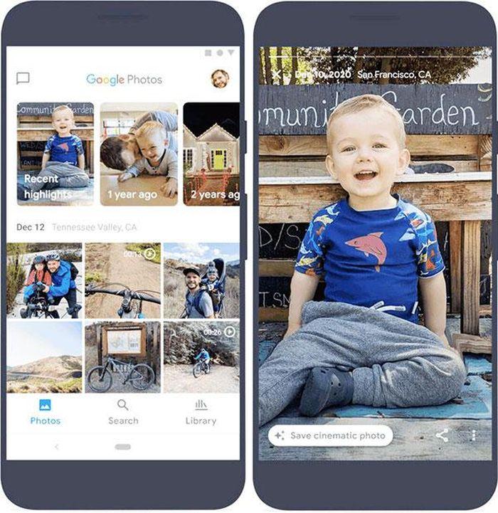 Google Photos sắp có tính năng mới tạo kỷ niệm của bạn sống động hơn