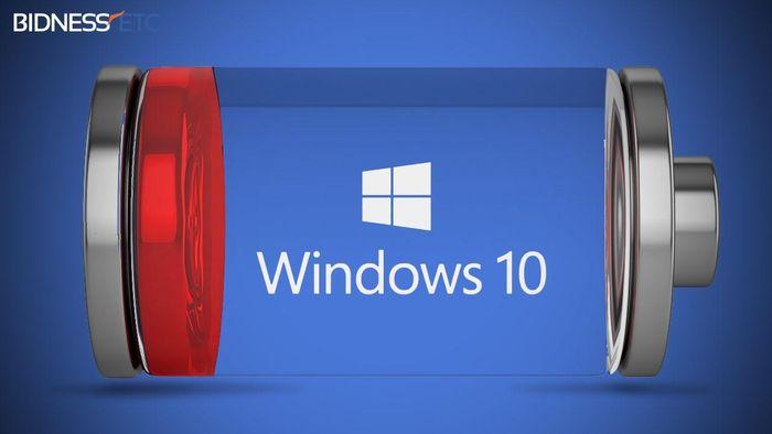 Bản cập nhật Windows 10 có thể kéo dài tuổi thọ pin laptop