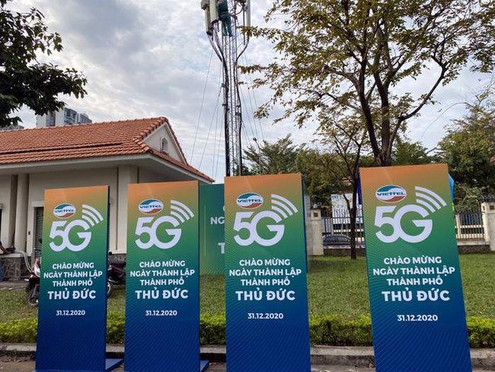 Viettel cung cấp dịch vụ 5G tại Thủ Đức